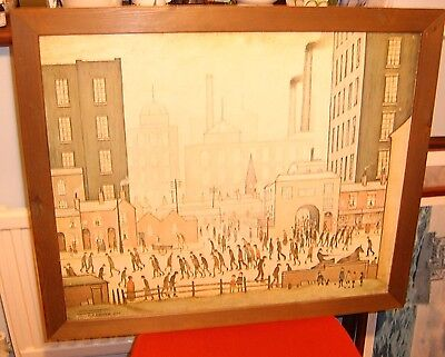 "L S Lowery Athena Print ""Coming from the Mill"""