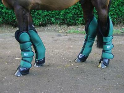 Horse Travel Boots - Polly Products - Medium Navy