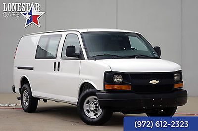 2014 Chevrolet Express One Owner 2014 White One Owner!