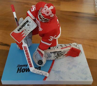 Mcfarlane NHL Serie 27 Jimmy Howard Detroit Red Wings Goalie Eishockey Figur
