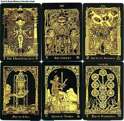 Book of Azathoth Tarot Cards  Nemo's Locker Self Published Limited third Editon