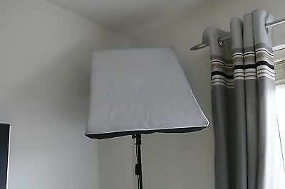 2x125W Photo Studio Softbox Continuous Lighting Soft Box Light Stand Kit