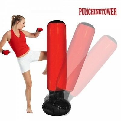 Punching Ball Gonflable Sac de Frappe Gonflable Punching Bag Sac Boxe