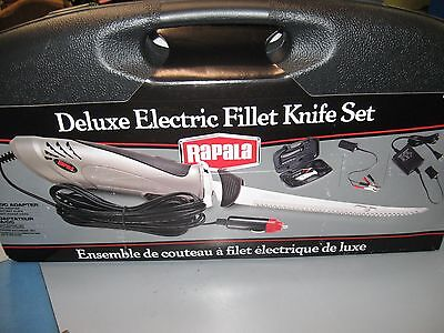 Rapala Deluxe Electric Fillet Knife AC/DC NEW Fish Fishing Filet
