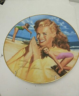 "The Hamilton Collection ""Her Day in The Sun"" Remembering Norma Jean by de Dienes"
