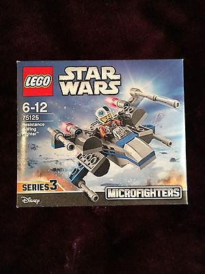 Lego Star Wars Resistance X-wing Fighter - Microfighters - 75125