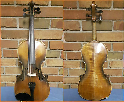Very Interesting Beautiful Antique Old Violin