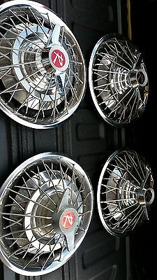 1964 rambler spinner wire wheel covers