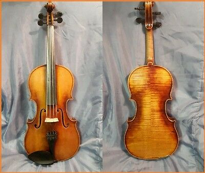 Antique Violin,STRAD copy, EXCELLENT shape,comes with case & bow!Made In Bohemia
