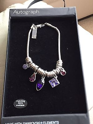 BRAND NEW Marks and Spencer Autograph Bracelet with Gift Box