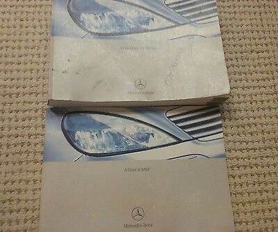 Used 2003 Mercedes Benz A Class Owners Manual