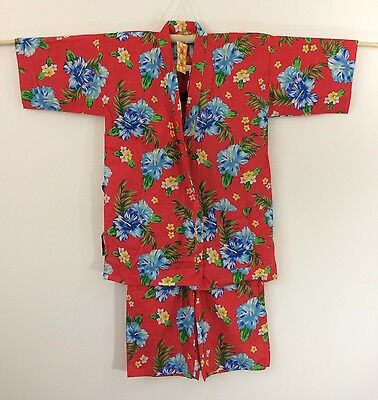 New authentic Japanese jinbei for women, traditional summer wear, S-M (I1057)