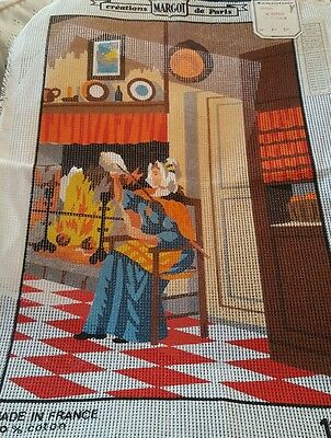 MARGOT Tapestry Canvas - Printed 1317  - 14 hpi - A1 quality