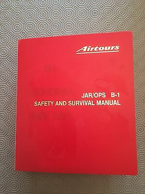 MyTravel Airways JAR/OPS B1 Safety And Survival Manual Airtours