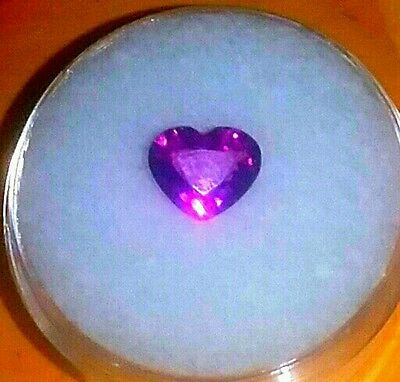 1.30ct.Mozambique Grape Garnet Heart Shape GORGEOUS AND NEW FROM 2012find