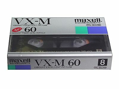 Maxell 8mm Video Cassette - Video8 Camcorder Kassette P5-60