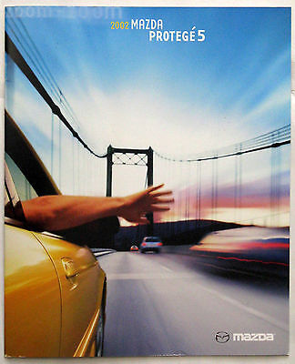 2002 Mazda Protege 5 Sales Brochure, Mint Condition, Orignal Owner
