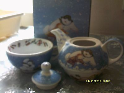 Beswick Snowman Teapot Tea for One