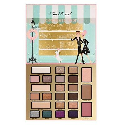 """COFFRET """"CHRISTMAS IN NEW YORK"""" THE CHOCOLATE SHOP TOO FACED Edition Limitée"""
