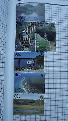 Cayman Islands Stamps Cayman Brae Nature Reserve set of mint stamps   6 stamps