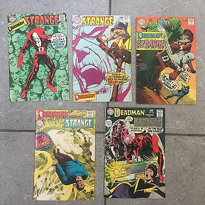 Strange Adventures  207-214  Neal  Adams  Art Avg Cond  Fn/vf $250 Guide Value