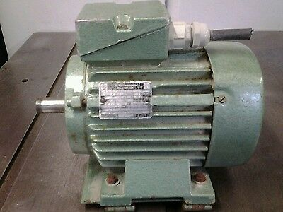3 phase electric motor 1.1 kw