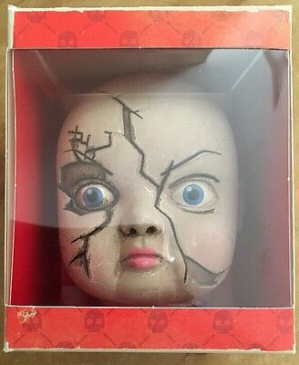Chucky Child's Play Baby Eat You Alive Doll Head Horror Block Toy Living Dead