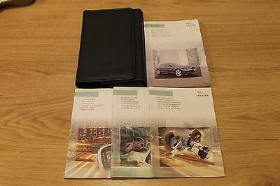 Jaguar X-Type Owners Manual Handbook Wallet Touch Screen 2001-2007 T1492