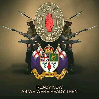 ulster volunteer force 36th ulster division poster for wall