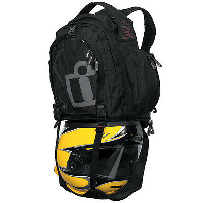 Icon Racing Motorcycle Urban Black Tank Bag 3502-0206 Special price today only !