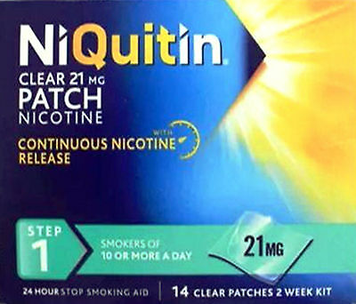 NiQuitin CQ Clear 21mg Step 1 14 Patches