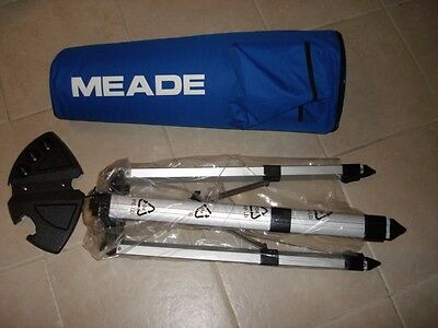Meade Telescope DS-2000 Astroscan II  Metal Tripod  DS2000 Silver Good Condition