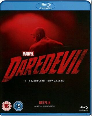 Marvel DAREDEVIL The Complete First Season 1 Blu-Ray BRAND NEW Free Shipping