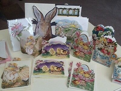 VICTORIAN COLLECTION Gifted Line EASTER GREETING CARDS   Total 29 Cards
