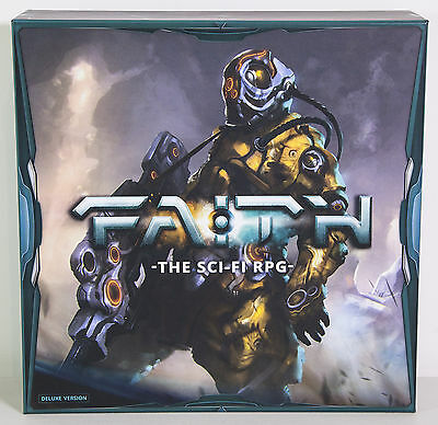 Faith Deluxe Edition Kickstarter - Sci-Fi Roleplaying RPG Boardgame