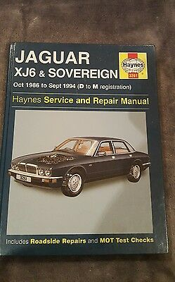 Haynes Jaguar XJ6 & Sovereign Manual