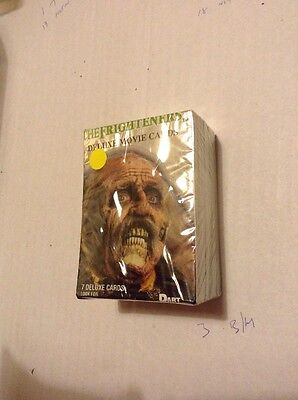 The Frighteners Trading Cards Complete Base Set 72 Cards Plus Wrapper