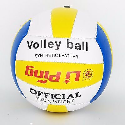 Official size PU Leather Soft Beach Volleyball Ball Size 4 with 18 panels GN