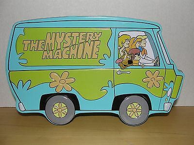 SCOOBY DOO Mystery Machine Collectible Hinged Tin Box ~Hanna-Barbera ~Dated 1998