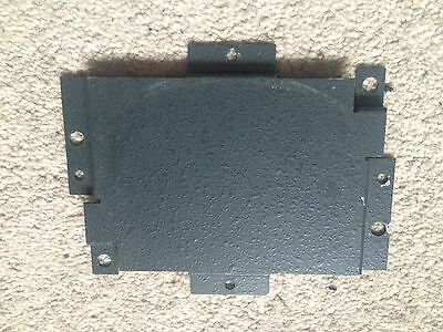 Global Games/ Maygay Elegance fruit machine cabinet note acceptor blanking plate