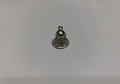 Sterling Silver Movable Bell Charm