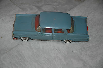 Vintage Wind Up tin toy car Made in West Germany Ultra Rare!!