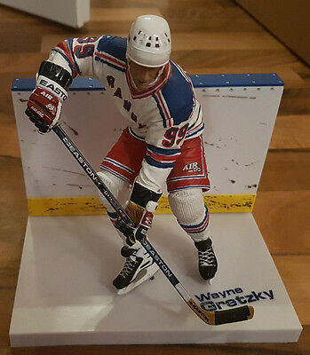Mcfarlane NHL Legends Series 3 Wayne Gretzky New York Rangers Eishockey Figur
