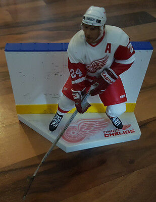 Mcfarlane NHL Series 7 Chris Chelios Detroit Red Wings Eishockey Figur