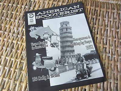 AMERICAN SCOOTERIST Magazine scooter vespa Spring 2004 Italy Leaning Tower Pisa