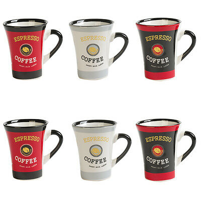 Coffret Pvc 6 Tasses 10Cl Collector Rouge