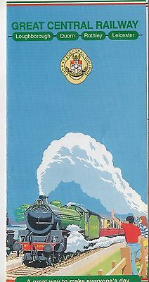 Great Central Railway Timetable 1995
