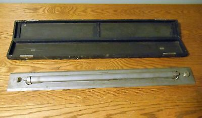Vintage Rolling Parallel Ruler Keuffel & Esser Co. NY 24 Inch Vintage Army/Navy