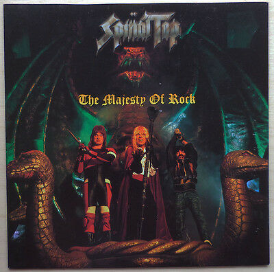 """Spinal Tap - """"the Majesty Of Rock"""" - 7"""" Vinyl Disc"""