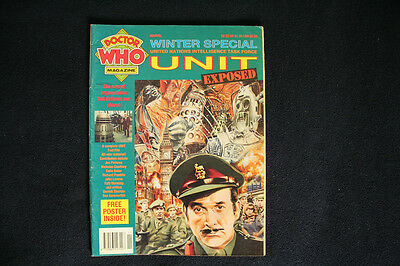 Doctor Who Monthly Magazine Winter Special Marvel 1991 UNIT issue